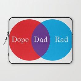 Dope Rad Dad Laptop Sleeve