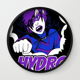 The Adventures Of Hydro Girl Wall Clock
