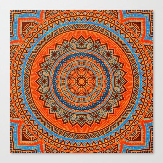 Hippie mandala 77 Canvas Print