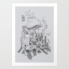 Impossible City Art Print