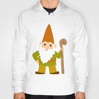 gnome Hoodies featuring gnome sweet gnome by Elephant Trunk Studio