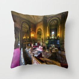 Old Manision Lounge Throw Pillow
