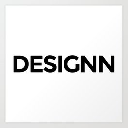 Designn Promo Art Print