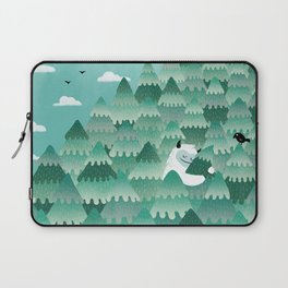 Tree Hugger (Spring & Summer version) Laptop Sleeve