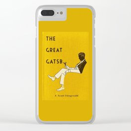 The Great Gatsby Clear iPhone Case
