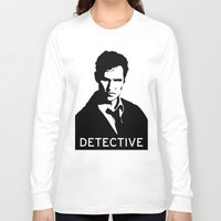 true detective Long Sleeve T-shirts featuring True Detective 2 by Green'n'Black