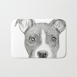 Staffordshire Terrier Dog Bath Mat