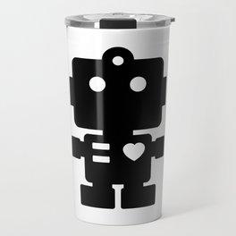 Cute Robot Travel Mug
