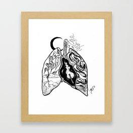 Human error Framed Art Print