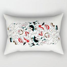 De la calma al caos, te prefiero a ti Rectangular Pillow