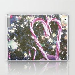 Candy Cane Heart  Laptop & iPad Skin
