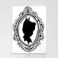peter pan Stationery Cards featuring Peter Pan  by Lydia Dick