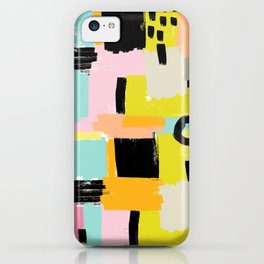 Color section001 iPhone Case