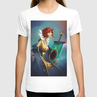 transistor T-shirts featuring Red and Luna by Leksotiger