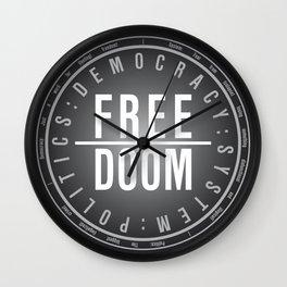 FreeDoom-2 Wall Clock