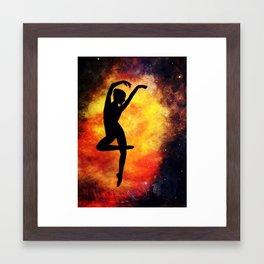 Heavenly Dancer Framed Art Print