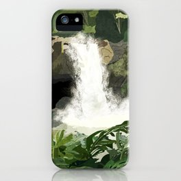 Hilo Hawaii Vintage Travel Print iPhone Case