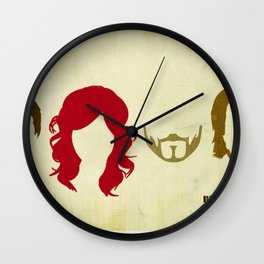 Lazer Katz Minimal Design Wall Clock
