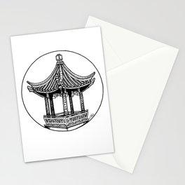 Moon Locking Pavilion Stationery Cards