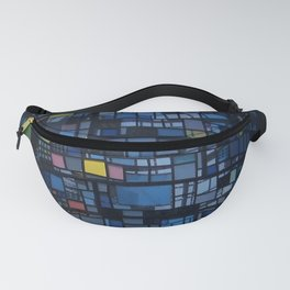 Stained glass water tower Fanny Pack