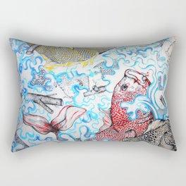 Fish Sticks Rectangular Pillow