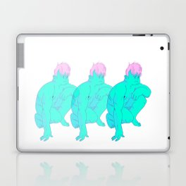 a lumpy man Laptop & iPad Skin