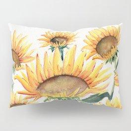 Sunflowers Love Pillow Sham