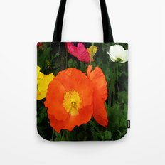 Poppies One Tote Bag