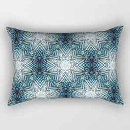 Eight Pointed Star Pattern Rectangular Pillow