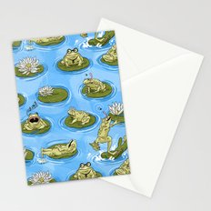 Froggy Fun Stationery Cards