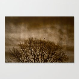 Lonesome Guardian Canvas Print
