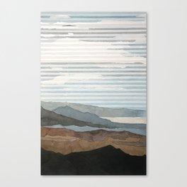 Salton Sea Landscape Canvas Print