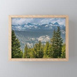 Minaret Vista, Inyo National Forest, California Framed Mini Art Print