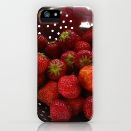 Sweet Strawberries iPhone Case