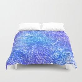 Minimalist Blue Watercolor Design Duvet Cover