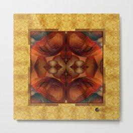 Chimera Gold & Blood Metal Print