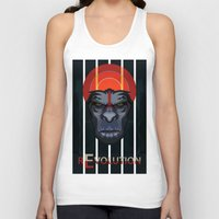planet of the apes Tank Tops featuring Dawn of the Apes by milanova