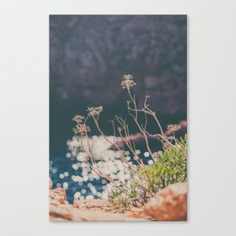 Sparkling Day at the Beach Canvas Print