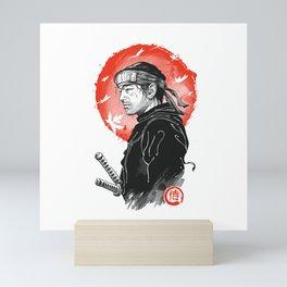 Ghost Samurai Mini Art Print