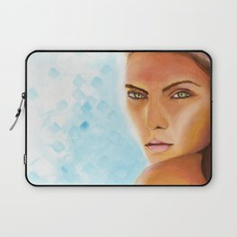 Sunkissed Face Laptop Sleeve
