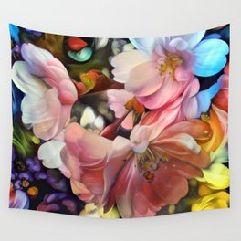 Spring Celebration Wall Tapestry