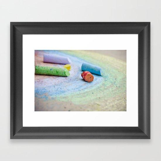 The Rainbow Connection Framed Art Print