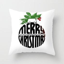 Christmas art Throw Pillow