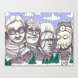 Mount Rickmore Canvas Print