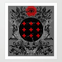 occult Art Prints featuring Occult theme by Renars