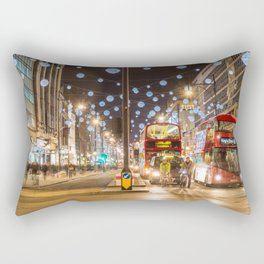 Christmas in London Rectangular Pillow