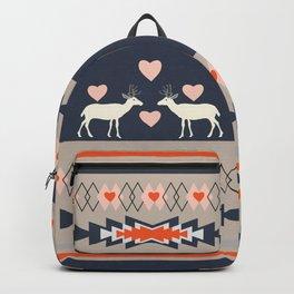 Romantic deer Backpack