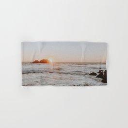 summer sunset iii / california Hand & Bath Towel