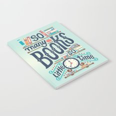 So many books so little time Notebook