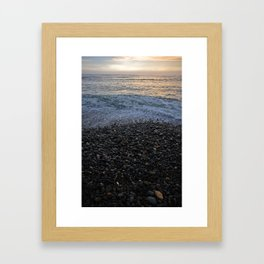 Rocky Shores of Peru Framed Art Print